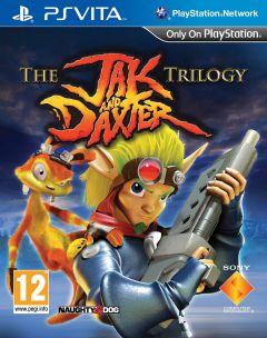 Jaquette de The Jak and Daxter Trilogy PS Vita