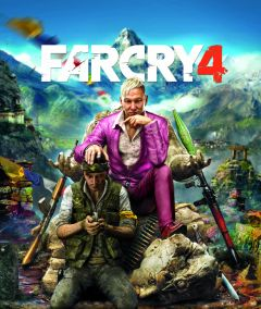 Jaquette de Far Cry 4 PS4