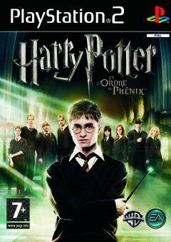 Jaquette de Harry Potter et l'Ordre du Phénix PlayStation 2