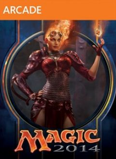 Jaquette de Magic : The Gathering : Duels of the Planeswalkers 2014 Xbox 360
