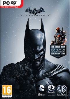 Jaquette de Batman : Arkham Origins PC