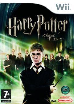 Jaquette de Harry Potter et l'Ordre du Phénix Wii