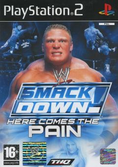 Jaquette de WWE Smackdown! : Here Comes the Pain PlayStation 2
