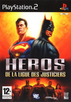 Jaquette de Héros de la Ligue des Justiciers PlayStation 2