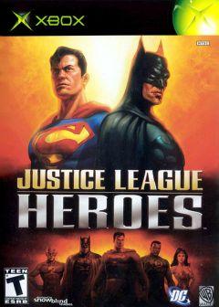 Jaquette de Héros de la Ligue des Justiciers Xbox
