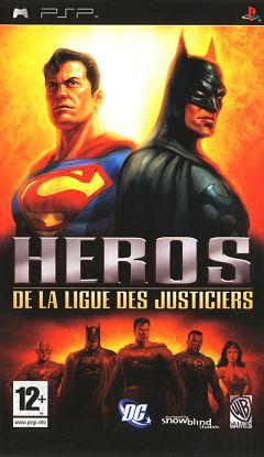 Jaquette de Héros de la Ligue des Justiciers PSP