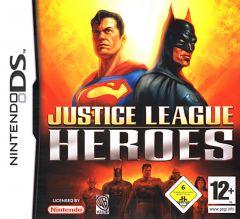 Jaquette de Héros de la Ligue des Justiciers DS