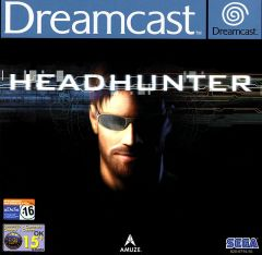 Jaquette de Headhunter Dreamcast