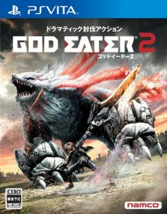 Jaquette de God Eater 2 : Rage Burst PS Vita