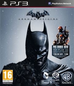 Jaquette de Batman : Arkham Origins PlayStation 3