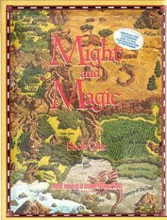 Jaquette de Might & Magic Book One : Secret of the Inner Sanctum Apple II
