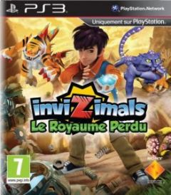 Jaquette de InviZimals : Le Royaume Perdu PlayStation 3