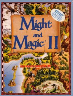 Jaquette de Might & Magic II : Gates to Another World Mega Drive