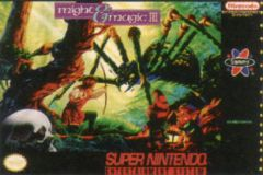 Jaquette de Might & Magic III : Isles of Terra Super NES
