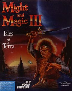 Jaquette de Might & Magic III : Isles of Terra Mac