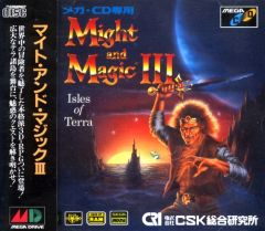 Jaquette de Might & Magic III : Isles of Terra MegaCD