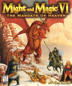 Jaquette de Might & Magic VI : The Mandate of Heaven PC