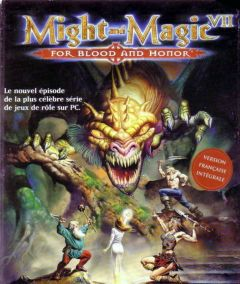 Jaquette de Might & Magic VII : For Blood and Honor PC