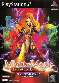 Jaquette de Might & Magic VIII : Day of the Destroyer PlayStation 2
