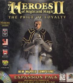 Jaquette de Heroes of Might & Magic II : The Price of Loyalty Mac