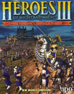 Jaquette de Heroes of Might & Magic III Dreamcast