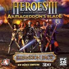 Jaquette de Heroes of Might and Magic III : Armageddon's Blade PC