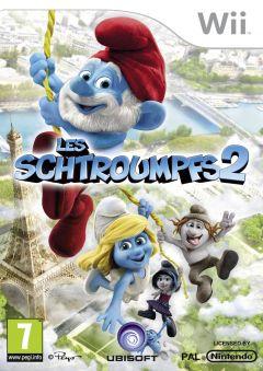 Jaquette de Les Schtroumpfs 2 : Le jeu vidéo Wii