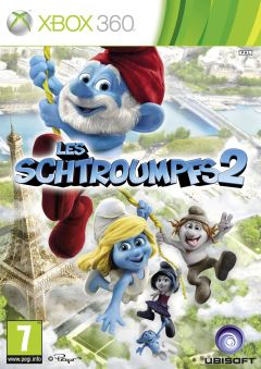 Jaquette de Les Schtroumpfs 2 : Le jeu vidéo Xbox 360