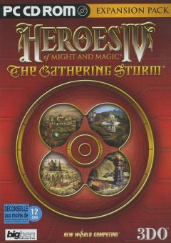 Jaquette de Heroes of Might and Magic IV : The Gathering Storm PC
