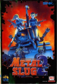 Jaquette de Metal Slug 2 : Super Vehicle-001/II NeoGeo