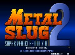 Jaquette de Metal Slug 2 : Super Vehicle-001/II Arcade
