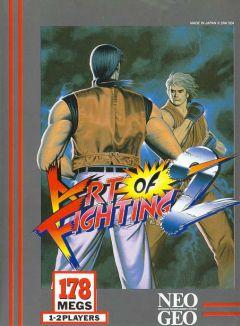 Jaquette de Art of fighting 2 NeoGeo