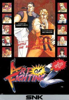 Jaquette de Art of fighting 2 Arcade
