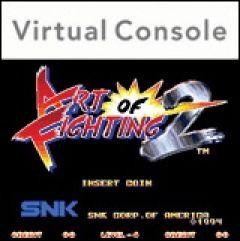 Jaquette de Art of fighting 2 Wii
