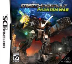 Jaquette de MechAssault : Phantom War DS