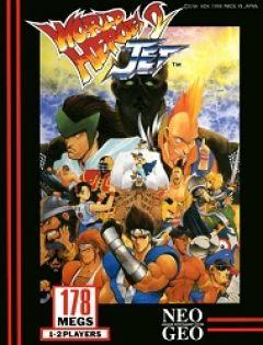 Jaquette de World Heroes 2 Jet NeoGeo