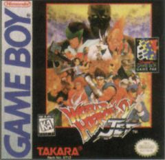 Jaquette de World Heroes 2 Jet Game Boy
