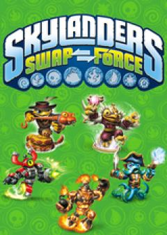 Jaquette de Skylanders SWAP Force PC
