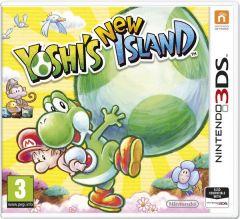 Jaquette de Yoshi's New Island Nintendo 3DS