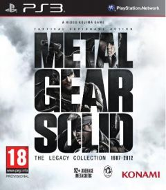 Jaquette de Metal Gear Solid : The Legacy Collection PlayStation 3