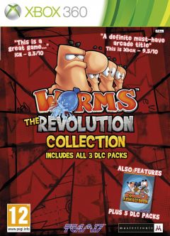 Jaquette de Worms : Revolution Collection Xbox 360