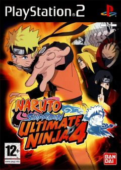 Jaquette de Naruto Shippuden : Ultimate Ninja 4 PlayStation 2