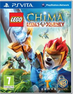 Jaquette de LEGO Legends of Chima : Le Voyage de Laval PS Vita