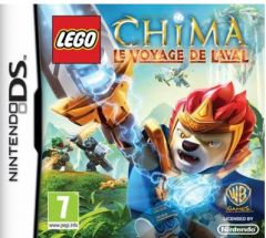 Jaquette de LEGO Legends of Chima : Le Voyage de Laval DS