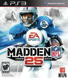 Jaquette de Madden NFL 25 PlayStation 3