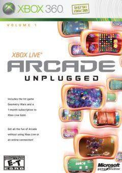 Jaquette de Xbox Live Arcade Unplugged Volume 1 Xbox 360