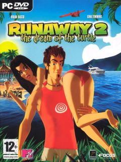 Jaquette de Runaway 2 : The Dream of the Turtle PC
