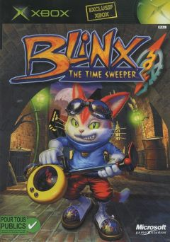 Jaquette de Blinx : The Time Sweeper Xbox
