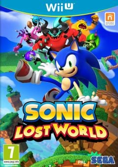 Jaquette de Sonic : Lost World Wii U