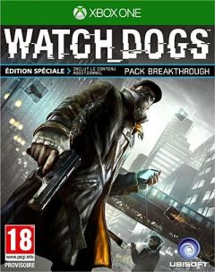 Jaquette de Watch Dogs Xbox One